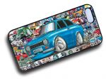 Koolart STICKERBOMB STYLE Design For Retro Mk1 Ford Escort RS Mexico Hard Case Cover Fits Apple iPhone 4 & 4s
